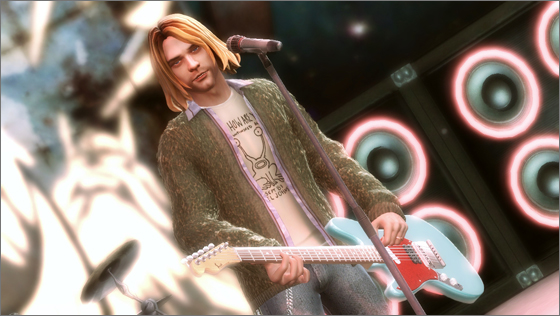 Kurt Cobain dans Guitar Hero 5