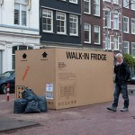 Heineken « Boxes ». Déclinaison Ambient de la pub Walk-in Fridge