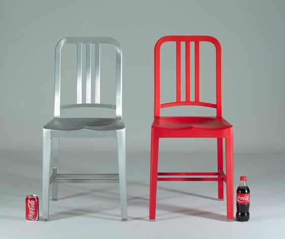 quand coca cola recycle ses canettes en chaise design le publigeekaire. Black Bedroom Furniture Sets. Home Design Ideas
