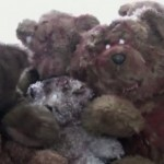 Nounours morts-vivants et costume Krang