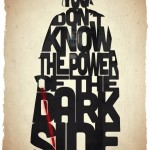 Star Wars, Indiana Jones et Optimus Prime en typographie
